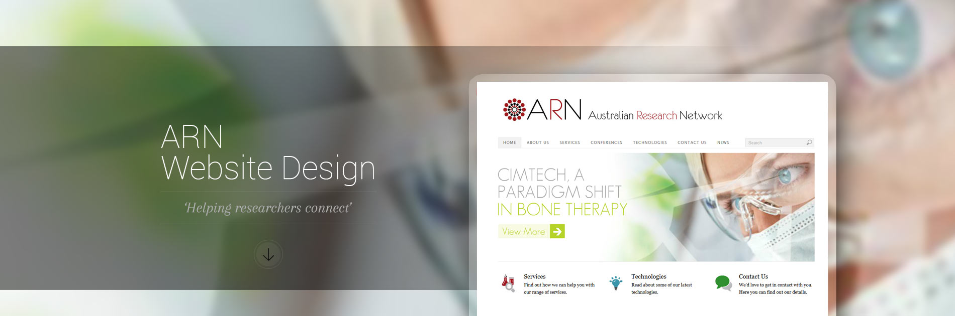 ARN Website Design