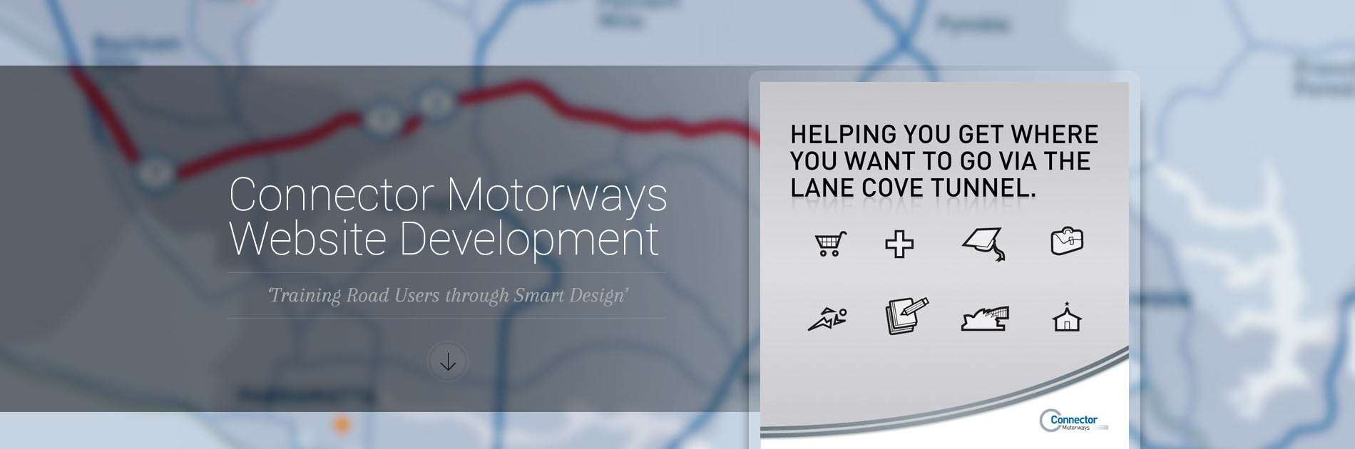 Connector Motorways Website Development