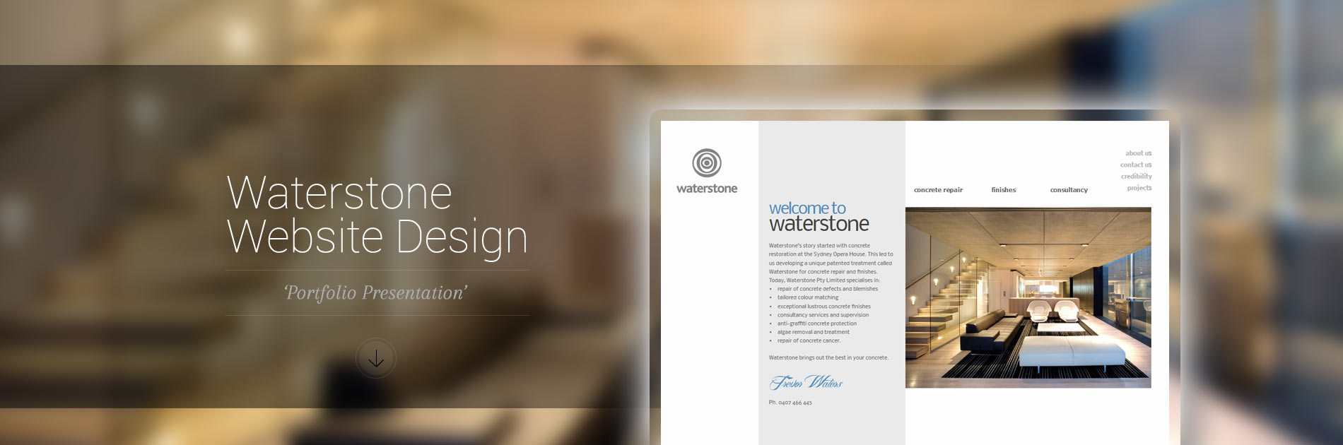 Website Design Waterstone
